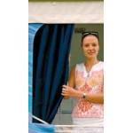 Safari Room verhot -4.5m, sininen